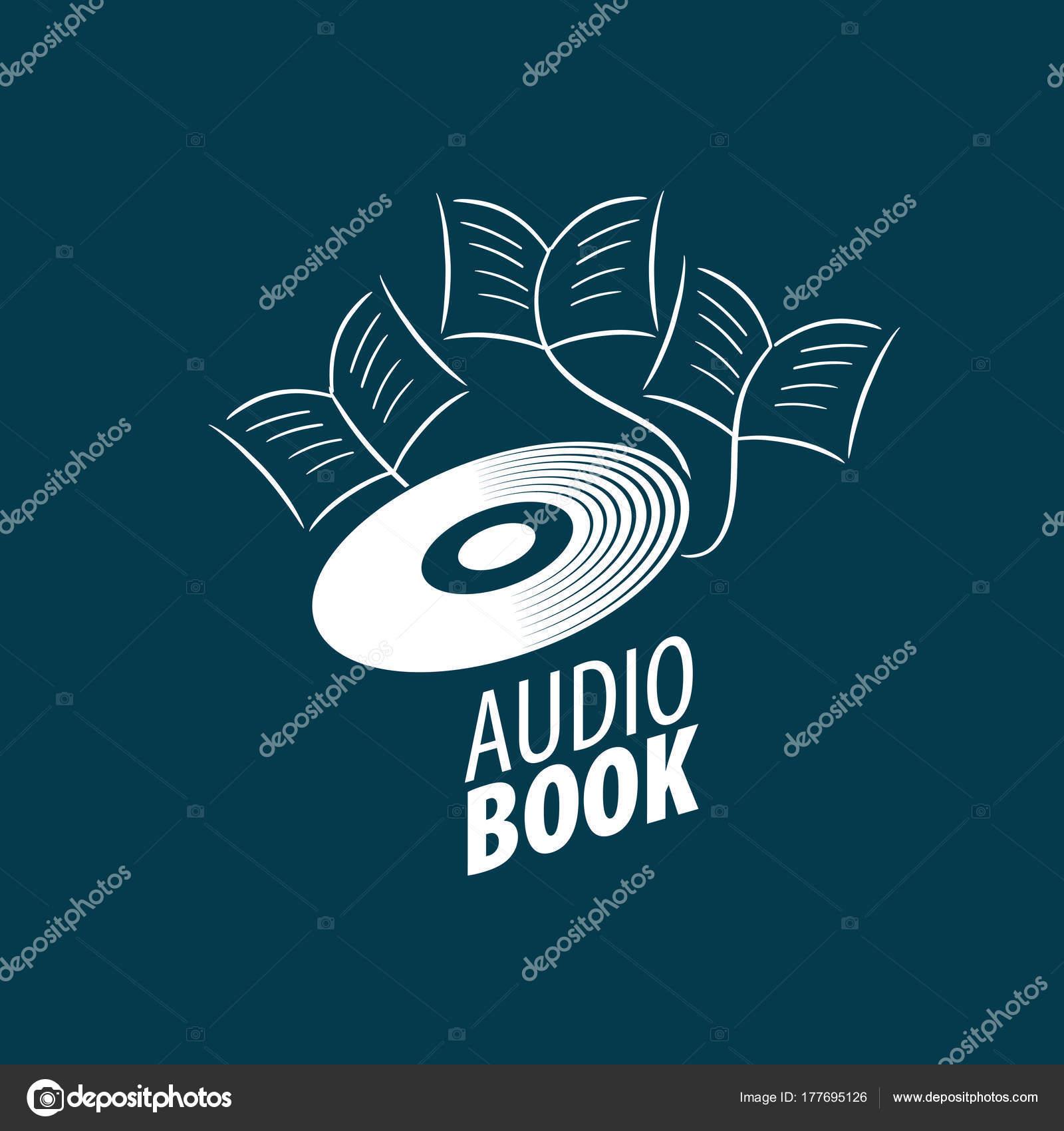 audiobook vector logo template stock vector artbutenkov 177695126