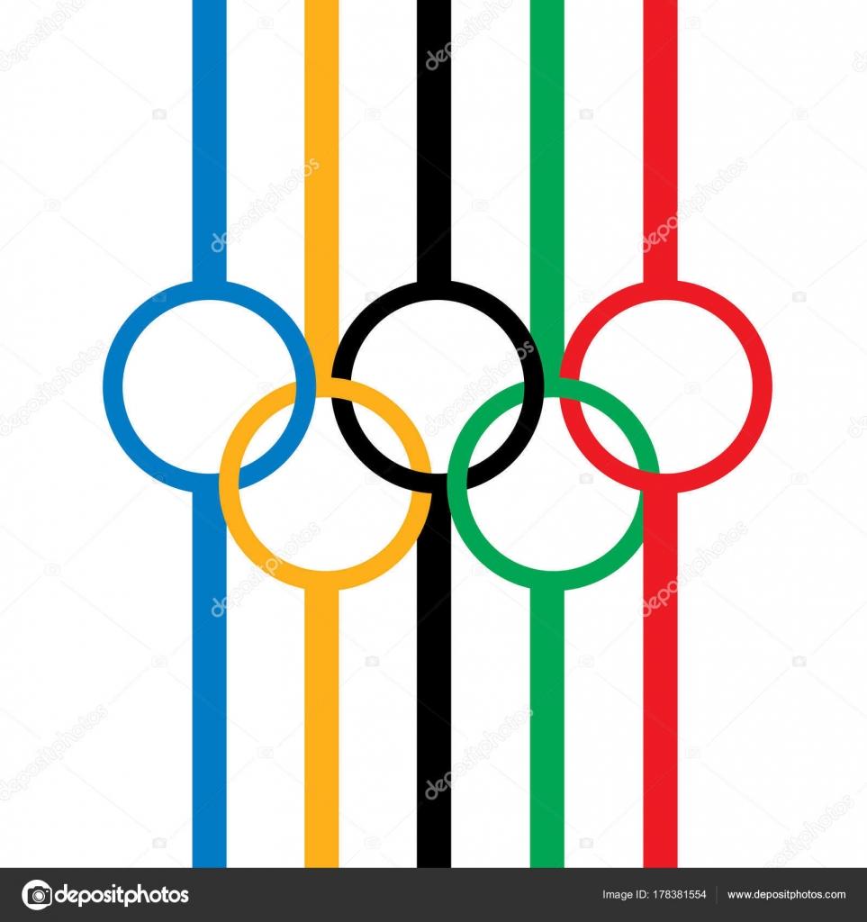 Sign Olympic Games Stock Vector Artbutenkov 178381554
