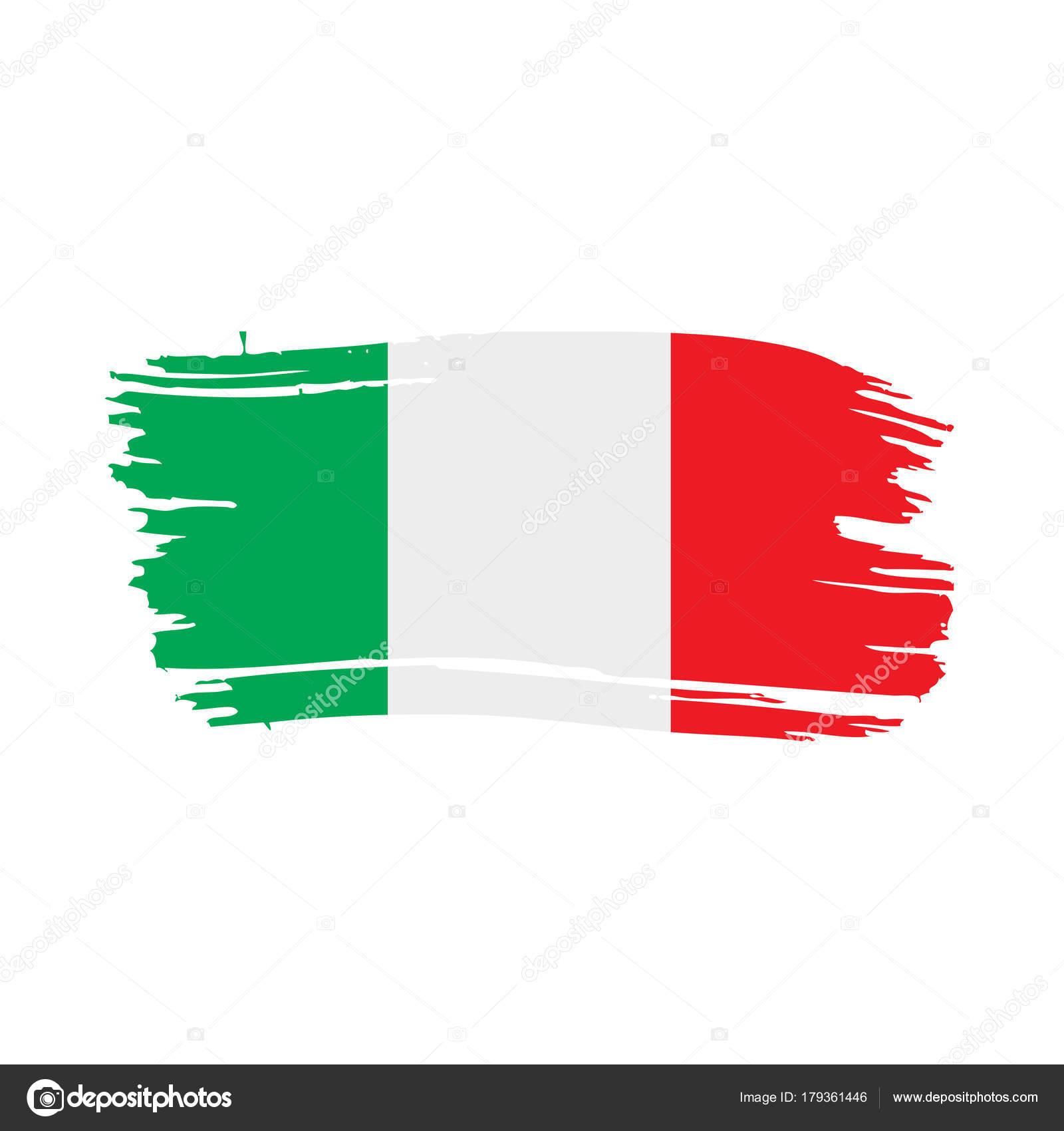italy flag vector illustration � stock vector