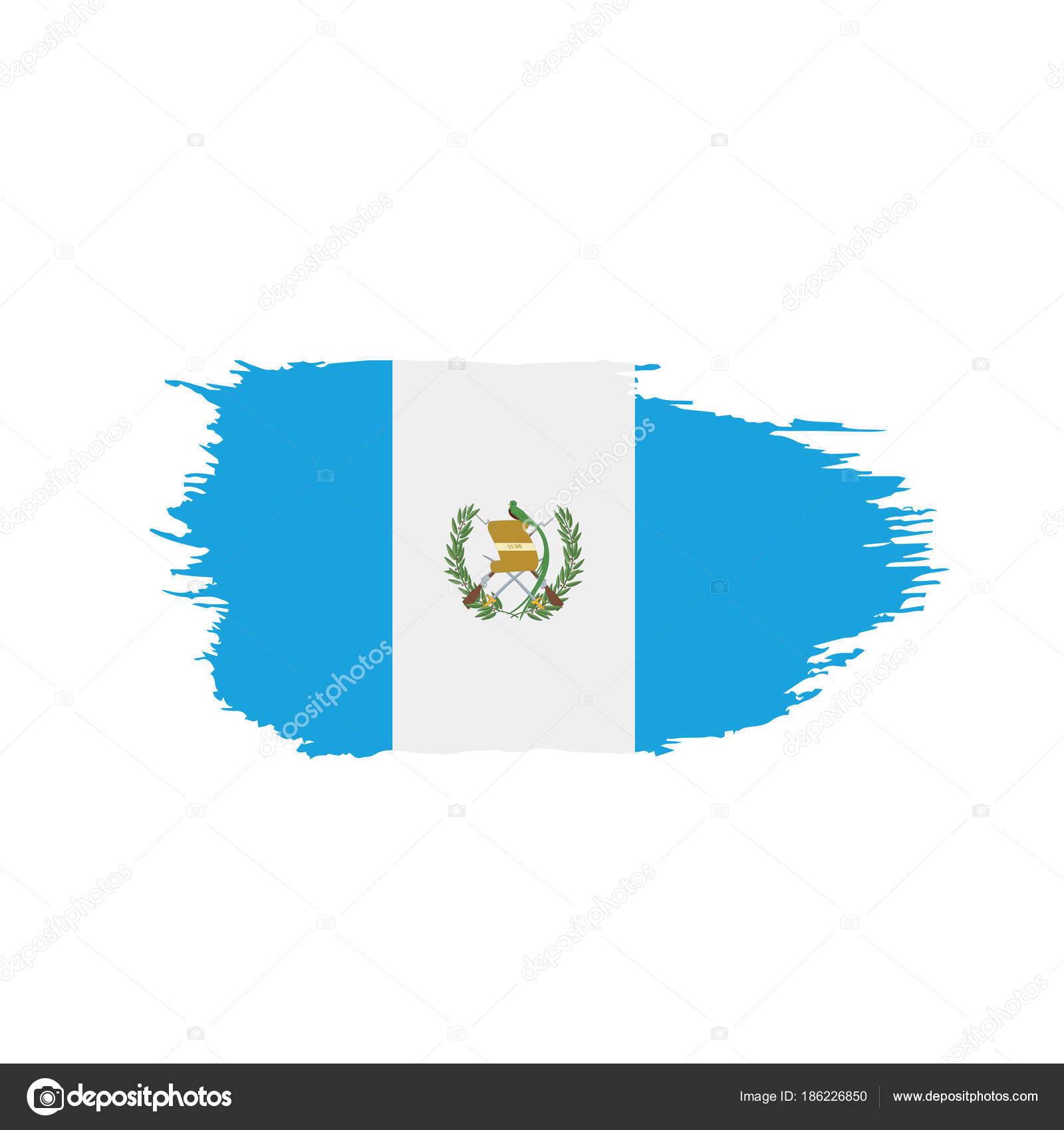 Guatemala Flag Vector Illustration Stock Vector Artbutenkov