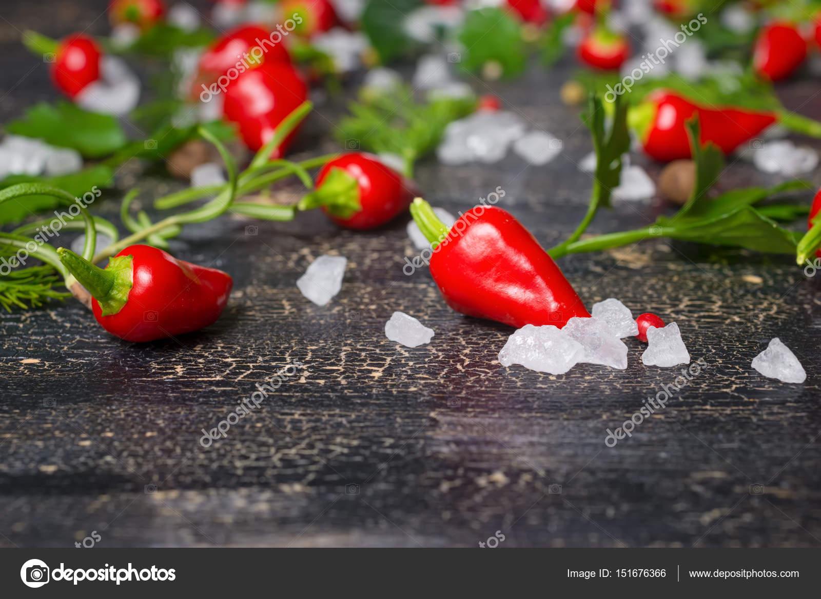 Schöne Räume schöne räume einstellung der rote paprika meer salz verschiedenen
