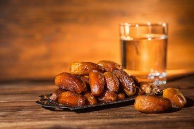 concept of  muslim feast holy month Ramadan Kareem in  evening s