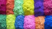 Indický Holi festival barev nebo barev