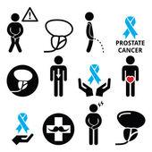 Rakovina prostaty povědomí, Pánské zdraví ikony nastavit