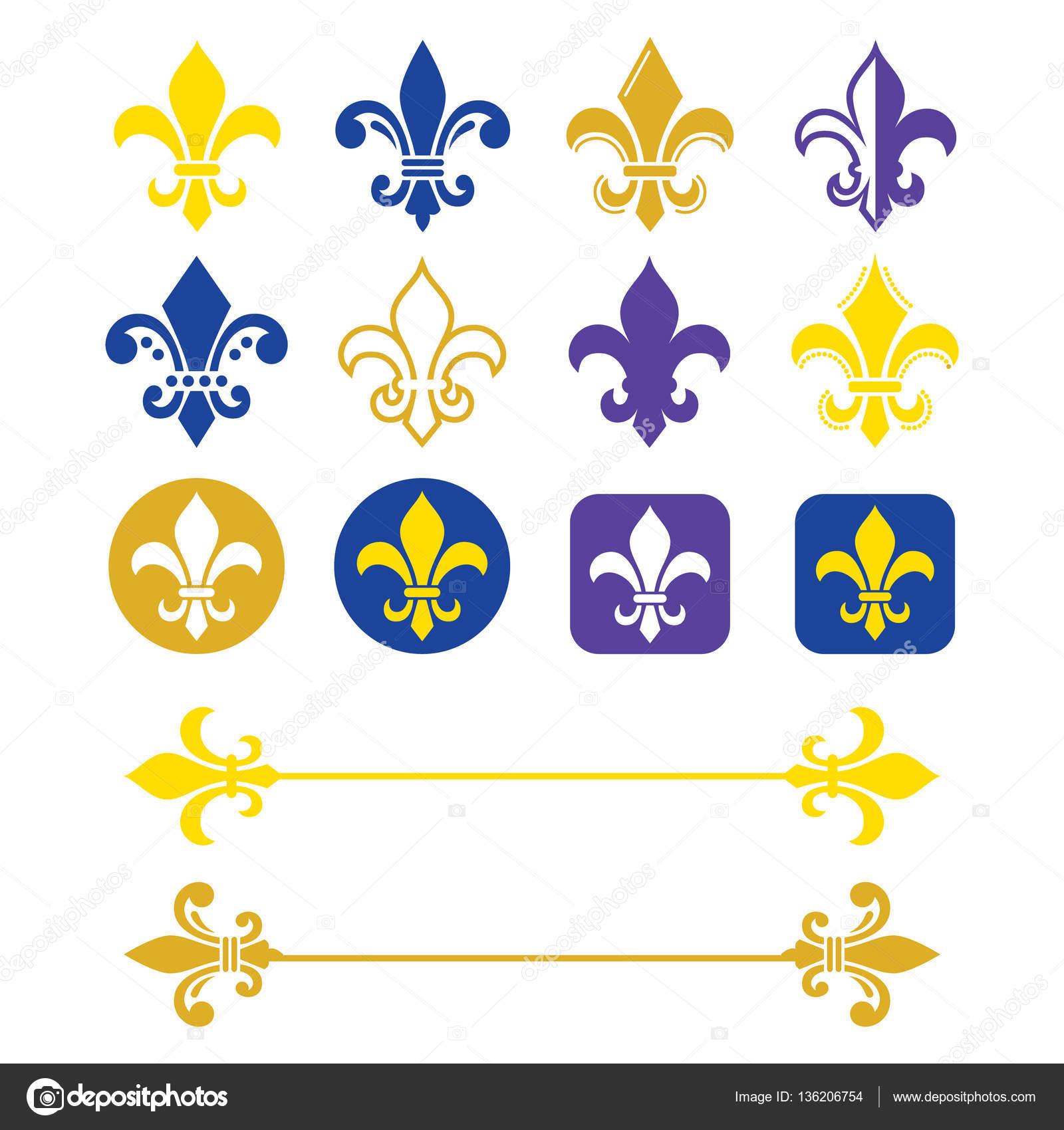 Fleur de lis french symbol gold and navy blue design scouting fleur de lis french symbol gold and navy blue design scouting organizations french biocorpaavc