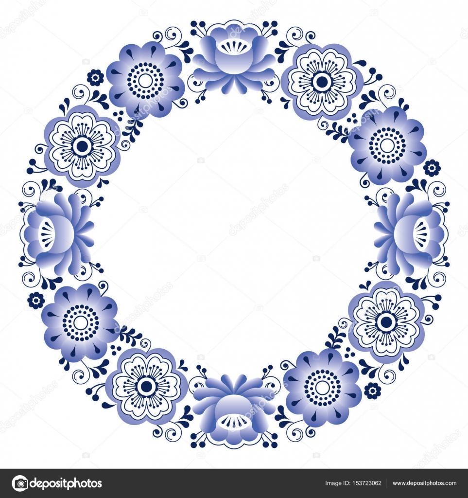 ruské přání k narozeninám Ruské lidové umění kruhovým vzorem   gželský keramika, svatební  ruské přání k narozeninám