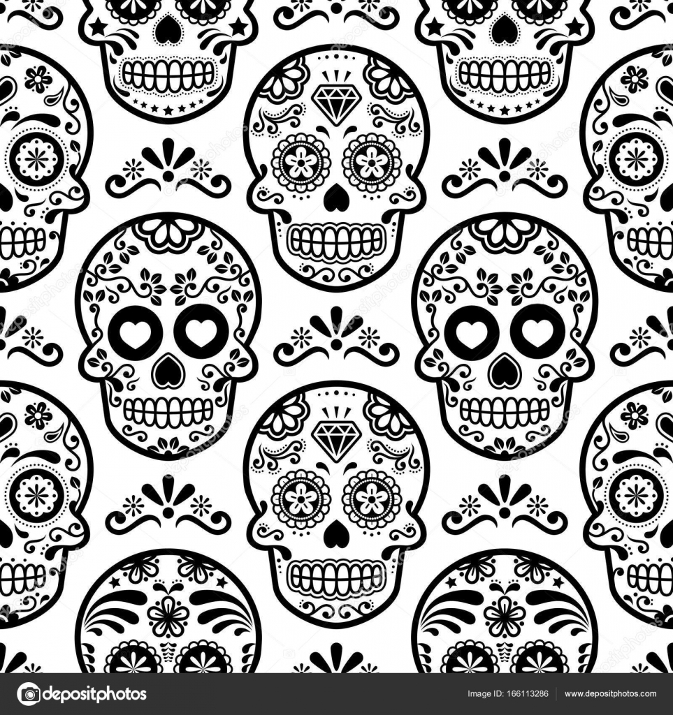 Packground Show Me Sugar Skulls Mexican Sugar Skull