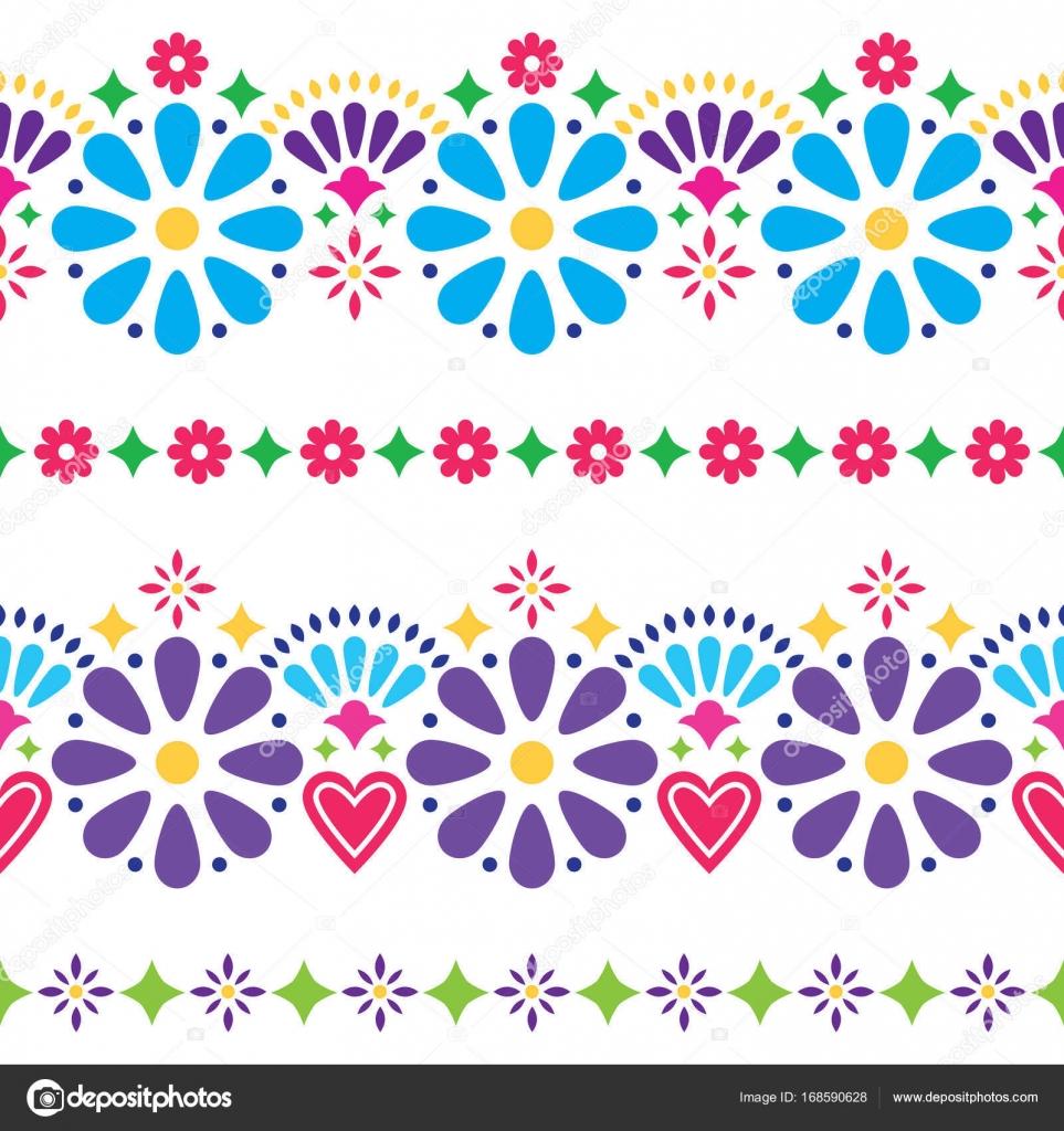 Folk Art Flower Designs