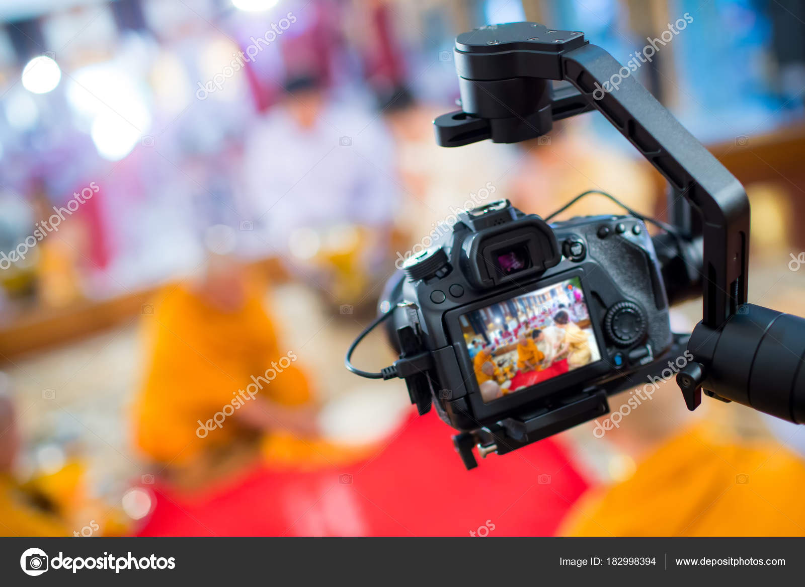 Steadicam Dslr Camera Video Production Shooting Movie