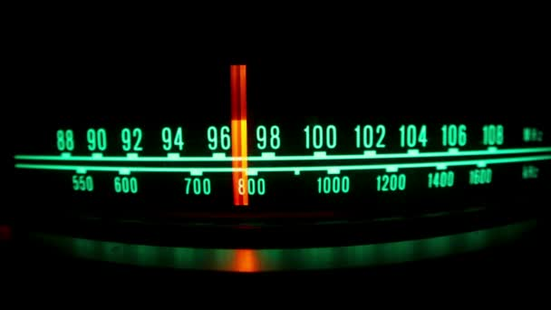 rádio lehké vytáčení