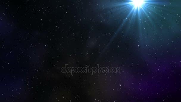 Hvězdná obloha ve vesmíru