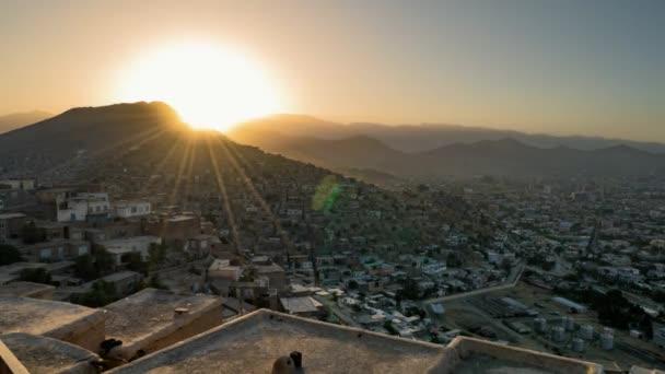 Kabul Time Lapse sunset