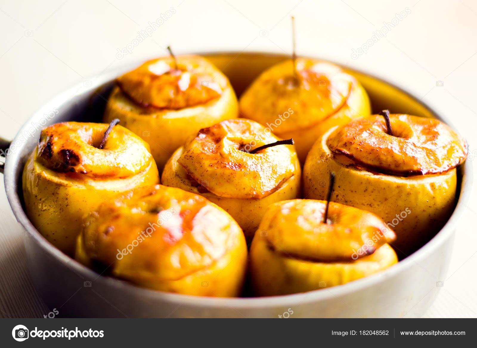 Manzanas al horno para dieta