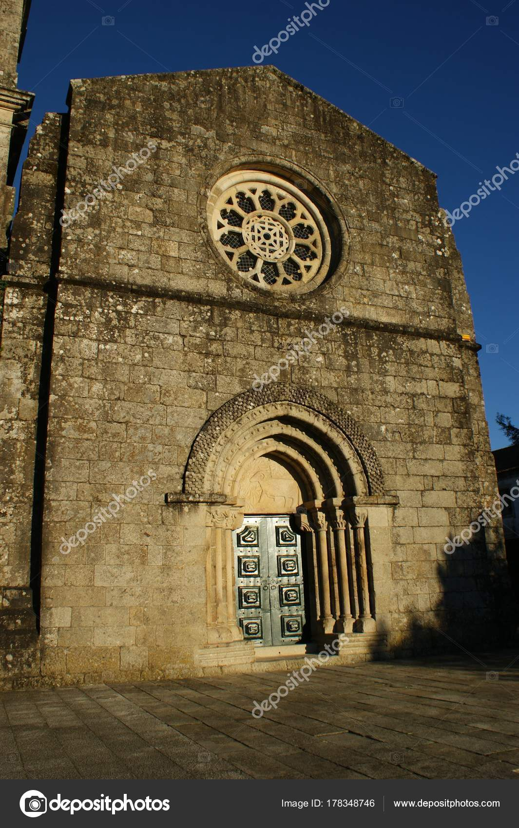 Romanesque church of Fonte Arcada in Portugal