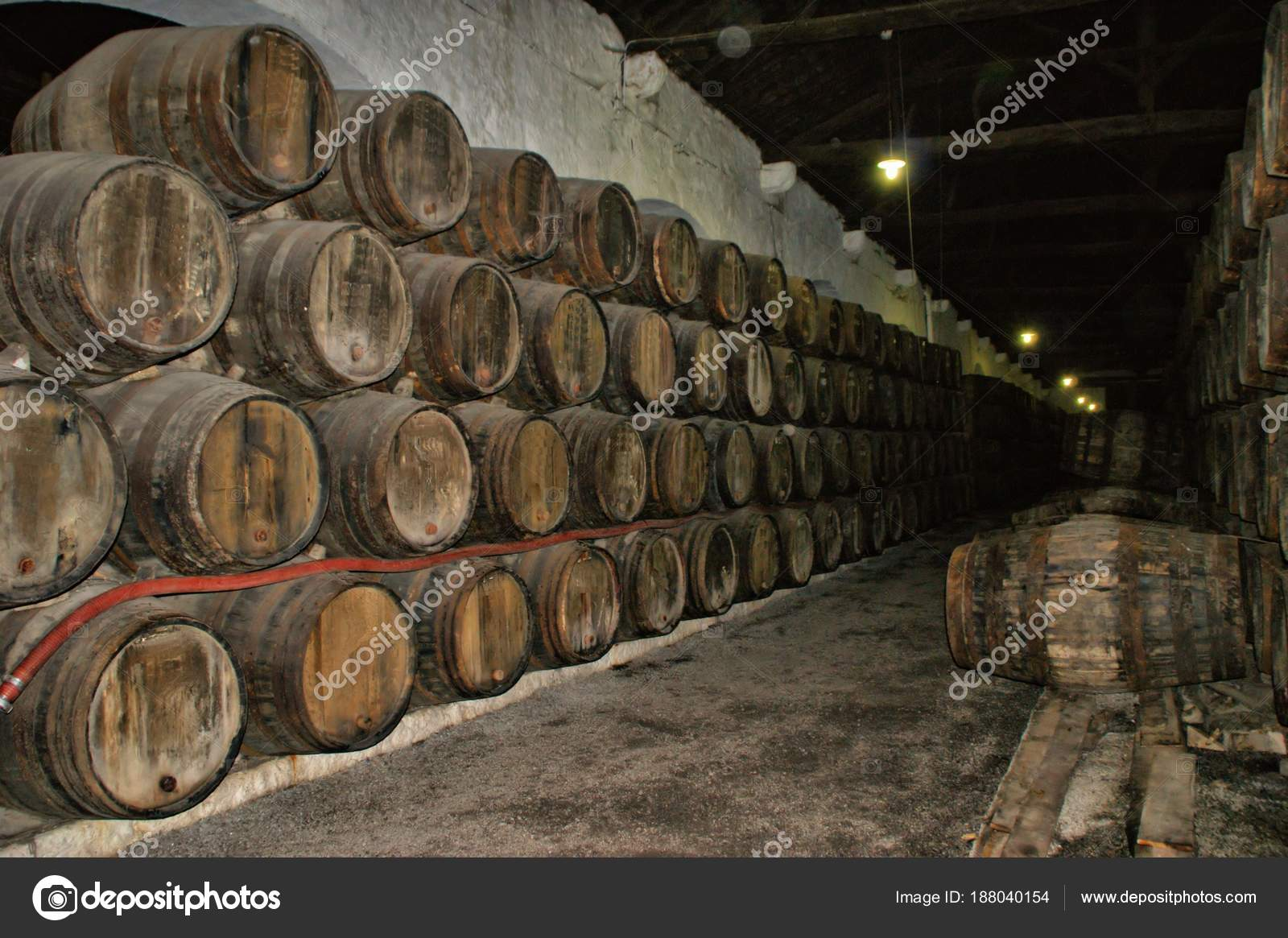 Port Wine Cellars in Vila Nova de Gaia, Portugal