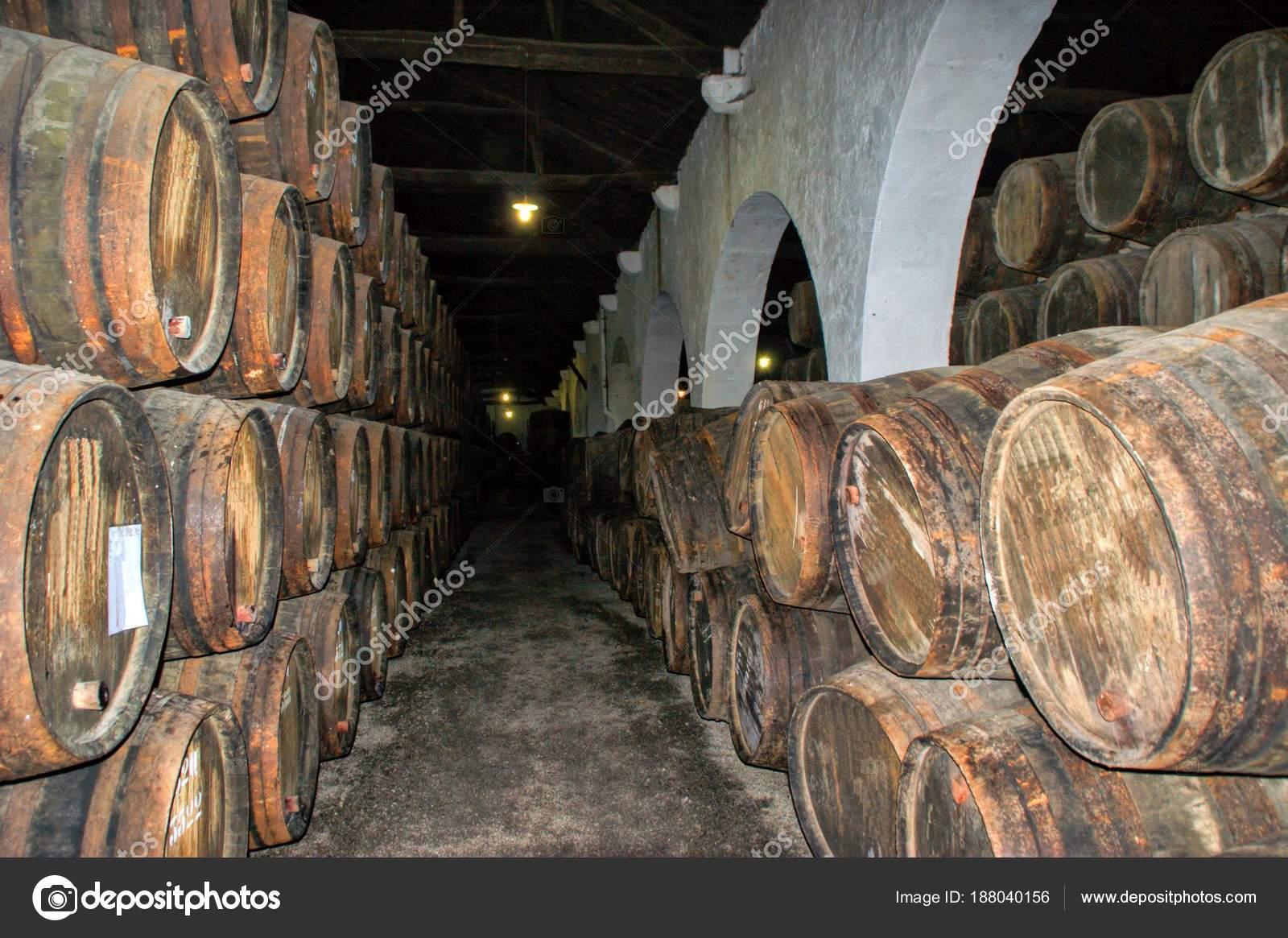 Port Wine Cellars in Vila Nova de Gaia, Portugal