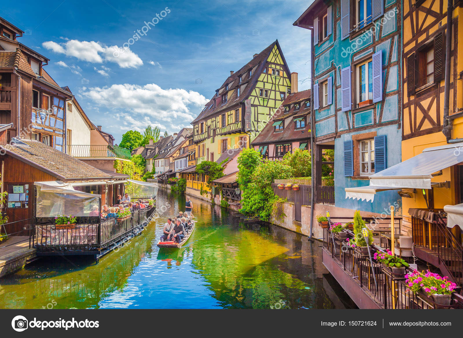 Elsass Karte Colmar.Historic Town Of Colmar Alsace France Stock Editorial Photo