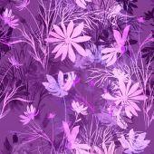 Fényképek Bélyegzőlenyomatok mintáit virág mintával