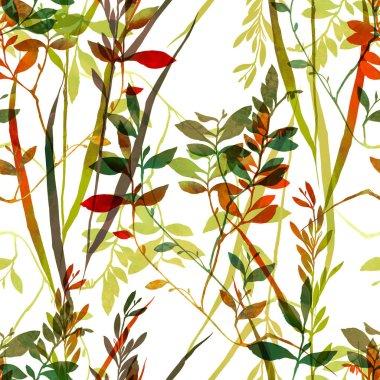 Herbarium grass pattern