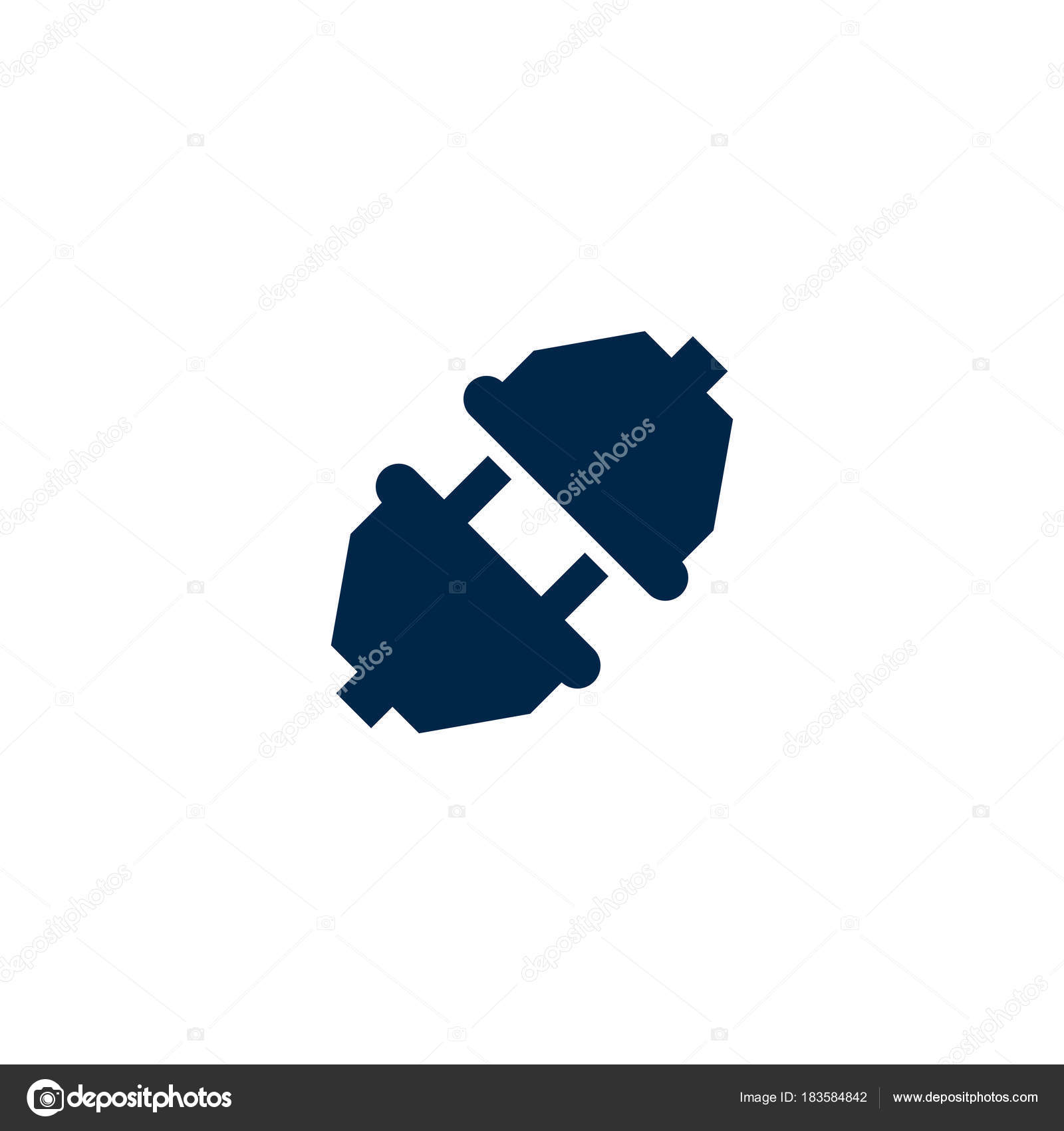 Unplugged Vector Illustrated Icon — Stock Vector © kreizihorse ... for unplug icon  150ifm