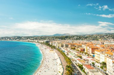 View of Nice city