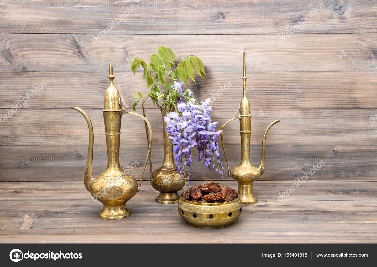 Vintage arabic jug vase tea pot fruits flowers decoration stock vintage arabic jug vase tea pot fruits flowers decoration stock photo 155401818 reviewsmspy