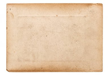Paper old used isolated white background