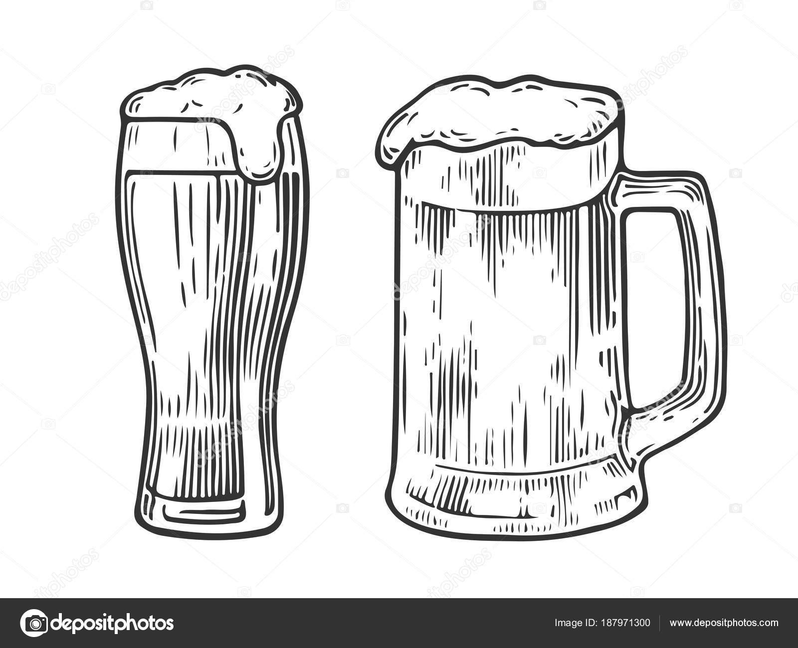 Tarro De Cerveza Vintage