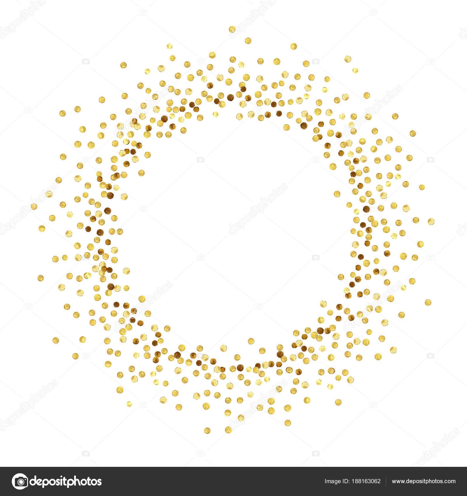 Gold Punkt Kreis Stockvektor 169 3epkalo 188163062
