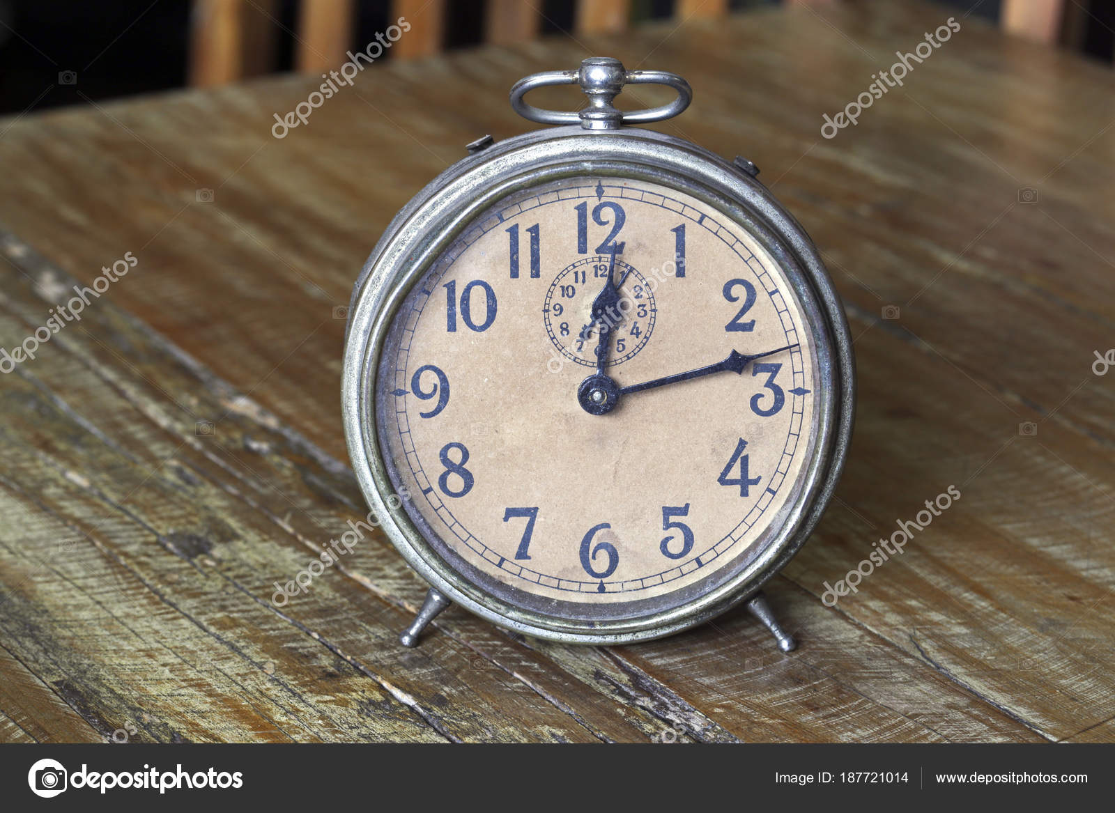 Old clock — Stock Photo © Jaboticabafotos #187721014