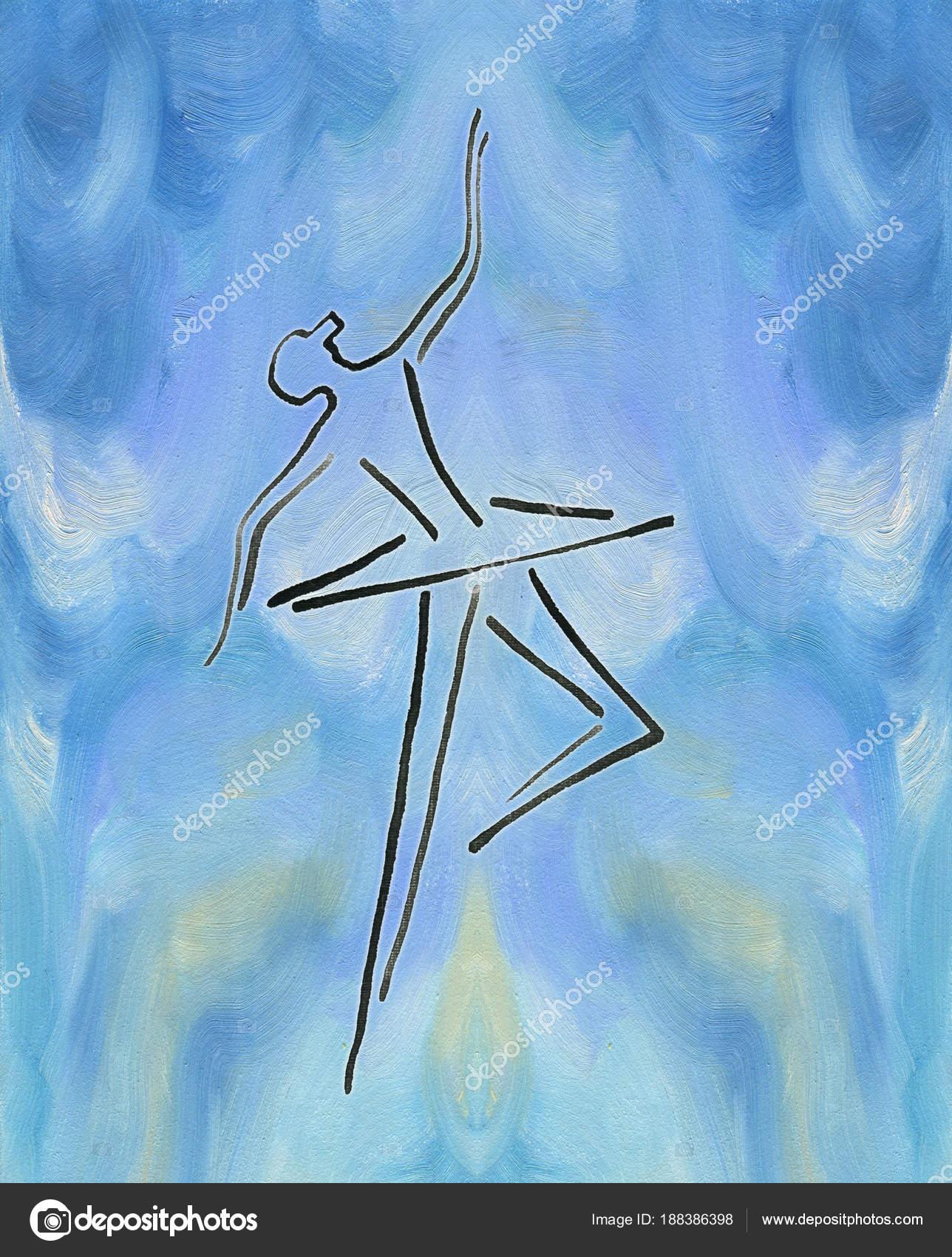 Dibujos Infantiles Para Pintar Oleo Baila A Bailarina Tinta De