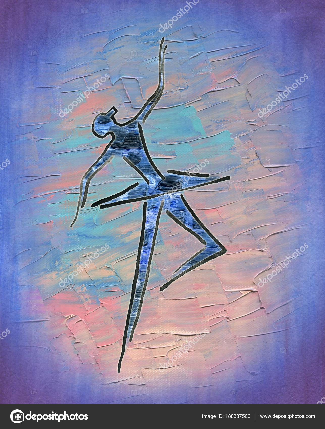 Imágenes Lindas Para Pintar Al Oleo Baila A Bailarina Tinta De