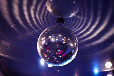 Sparkling disco ball