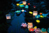 Fotografie Festival of water lanterns