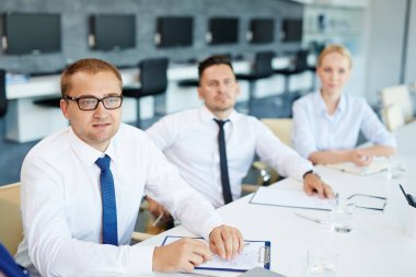Managers attending course of professional studies
