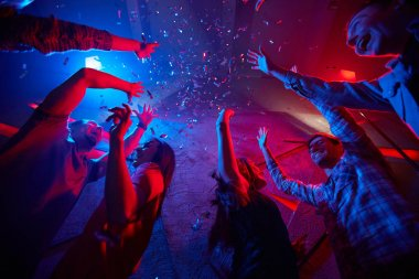 Dance in confetti
