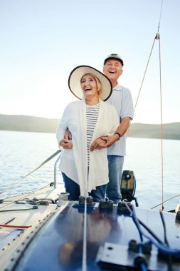 couple having romantic voyage