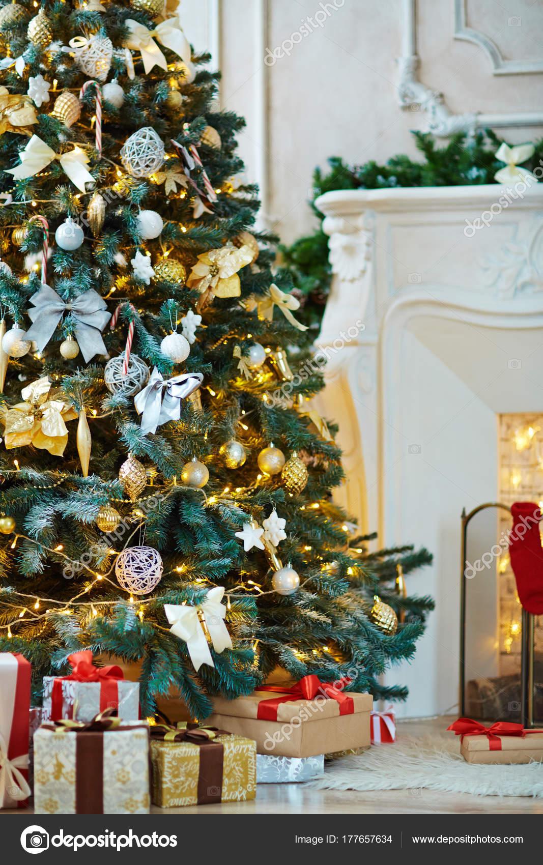 Fotos arbol de navidad decorados rbol navidad decorado - Imagenes de arboles navidad decorados ...