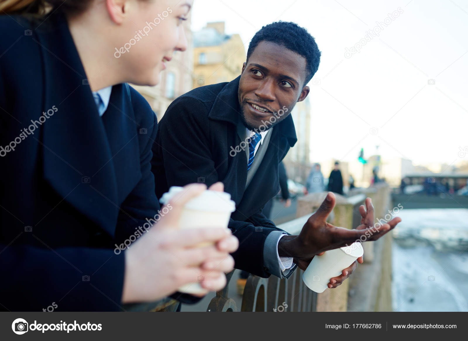Ritratto Affari Uomo Due Donna Giovane Colleghi Della Afroamericano rwzrB