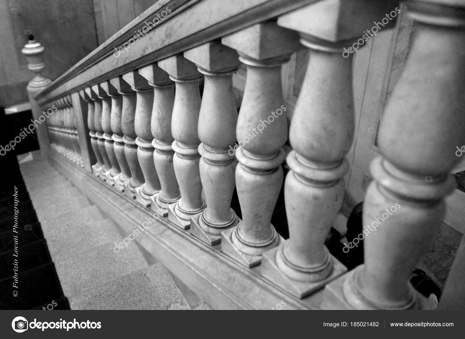 Old Italian Marble Staircase Stock Photo C Fotoarcore 185021482