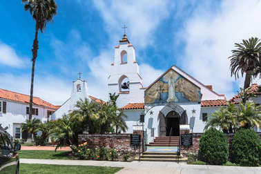 Church in La Jolla, San Diego, California