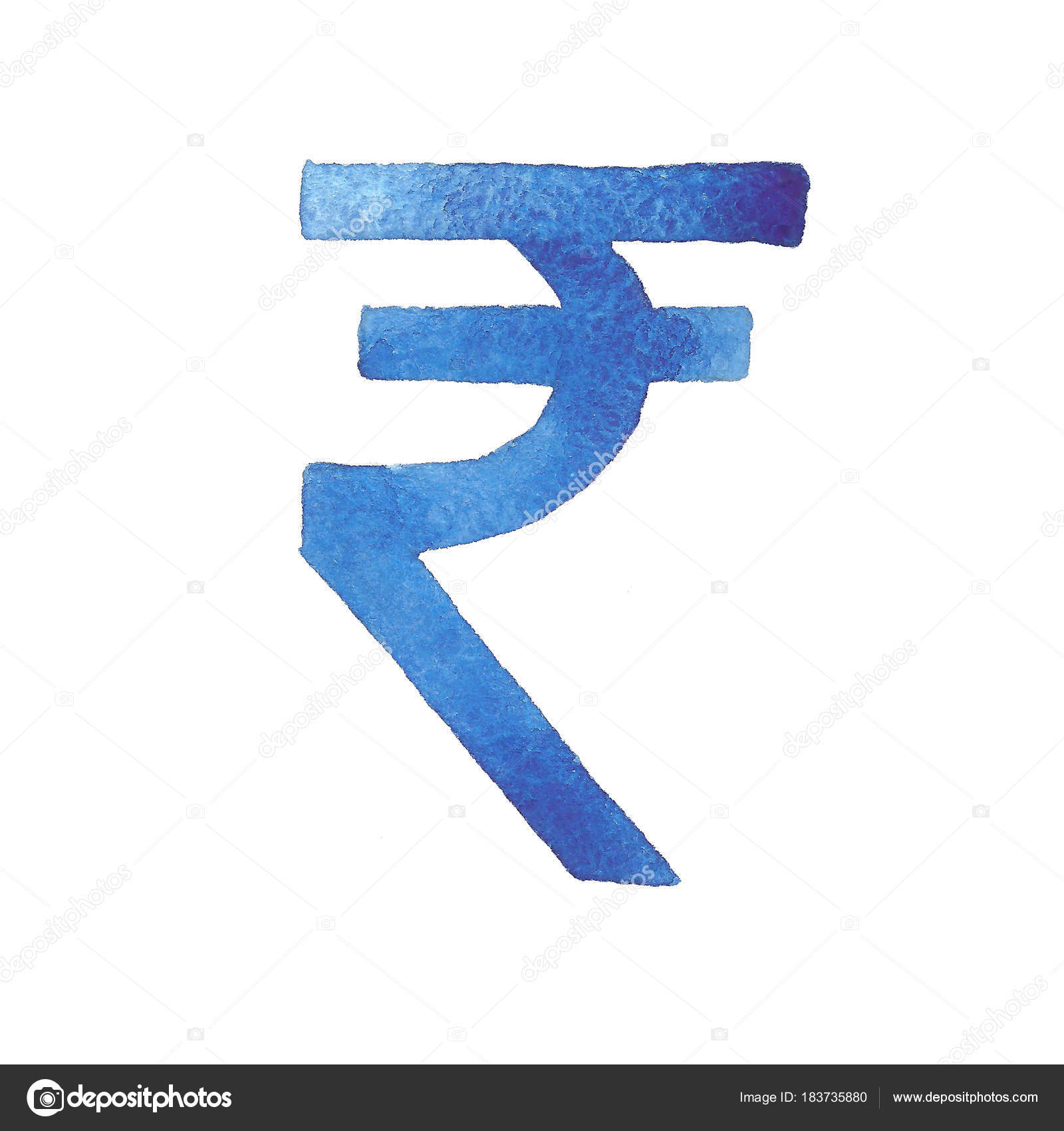 Rupee watercolor illustration of the indian currency stock rupee watercolor illustration of the indian currency isolated image of a monetary unit on a white background currency symbol photo by artgan biocorpaavc Choice Image