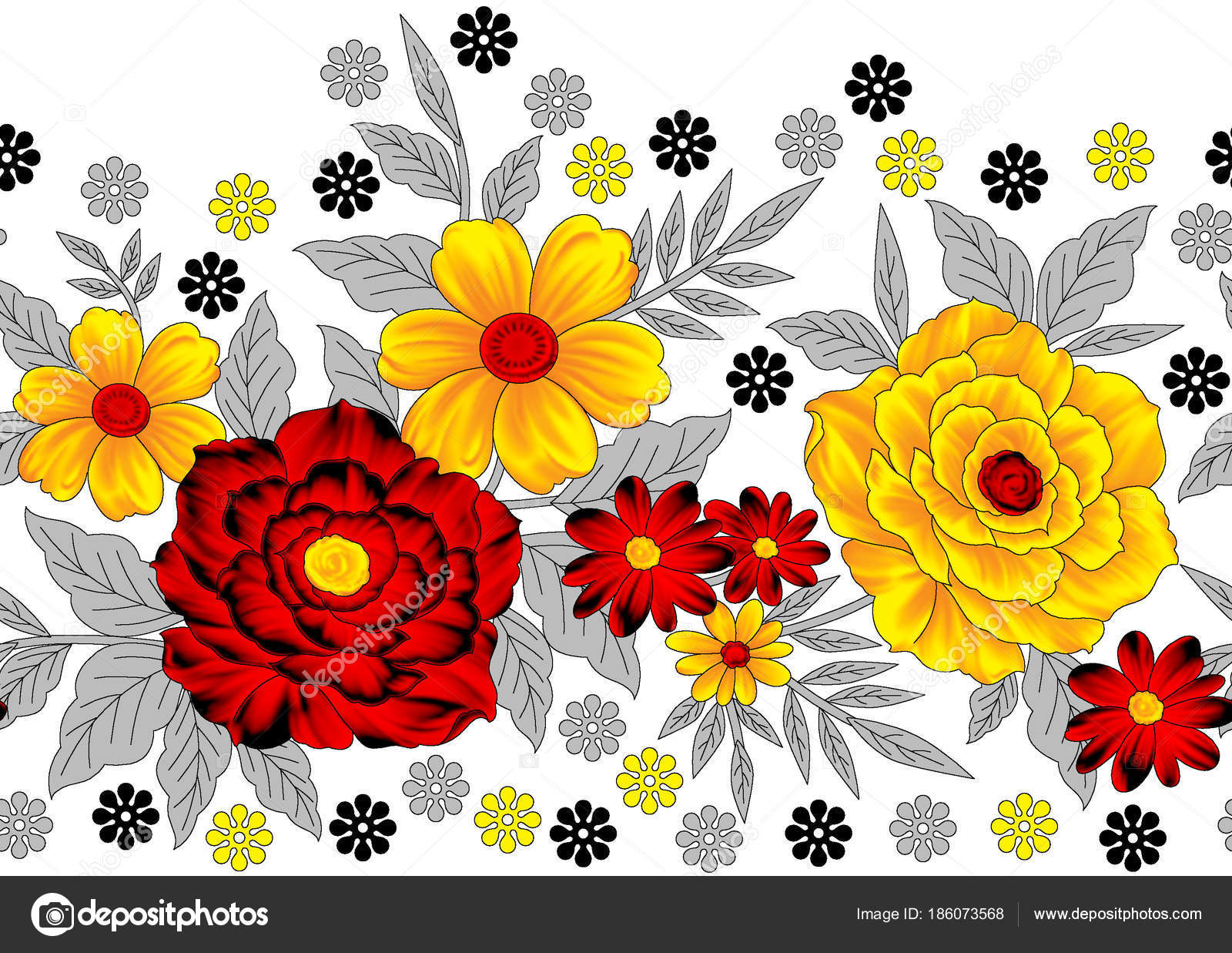 Magnificent Coloring Sheets Flowers Ensign - Coloring Page ...