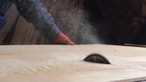 Kruhový stůl viděl řezání dřeva