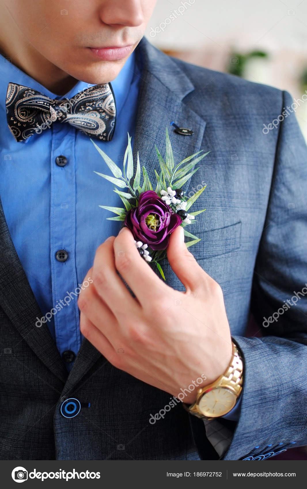 Gentleman Wedding Stylish Man Stylish Wedding Costume Butterfly ...