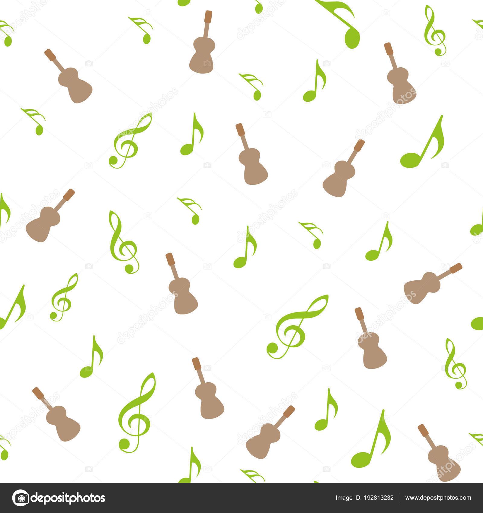 Símbolos de la música. XVI, octavo, cuarto y mitad nota con agudos y ...