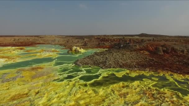 the Dallol volcano from a birds eye view (Ethiopia, Danakil Desert)