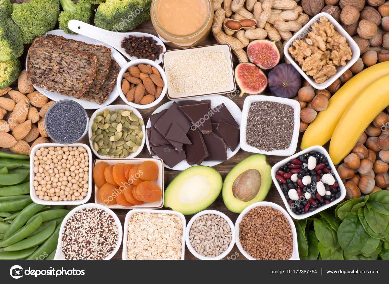 grönsaker med magnesium