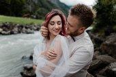Fotografie groom and bride