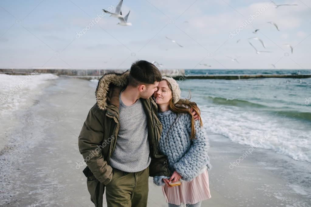 tender couple